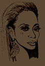 Cartoon: BEYONCE (small) by Toonstalk tagged singer,entertainer,grammy,winner,destinys,child,jayz