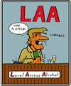 Cartoon: Local Access Alcohol (small) by tiefenbewohner tagged alkohol,fluppen,zigaretten,bier