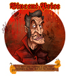 Cartoon: Vincent Price (small) by Garvals tagged vincent,price,horror,demon