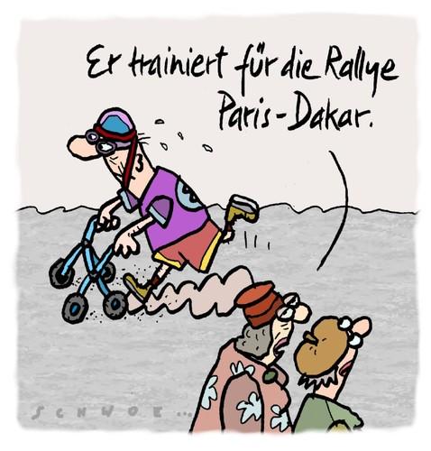 Funny Fitness Cartoons Rallye von schwoe   Sp...