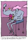 Cartoon: Bodypainting (small) by schwoe tagged alpen,bodybuilding,kunst,kitsch,stärke,sport