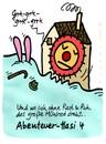 Cartoon: Hasi62 (small) by schwoe tagged hase,hasi,mühle,mühlrad,angst,mahlen,mehl
