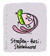 Cartoon: Hasi 57 (small) by schwoe tagged hasi,hase,skateboard,halfpipe,straße