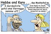 Cartoon: Hebbe ond Karo - dua Moohschd na (small) by TOSKIO-SCHWAEBISCH tagged toskio,vtms,cartoon,schwäbisch,tex,pander,most,moohschd,schwääbisch,schwäbisches