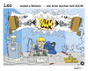 Cartoon: Leo . . . . BUUM (small) by TOSKIO-SCHWAEBISCH tagged toskio,vtms,cartoon,tex,pander,leo,buum,löten,schwäbisches,schwaebisches,schwääbischs,relleele,leeda,elektronikreparatur,hifi,reparatur,lötkolben,soundexplosion,boxen,explodieren