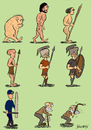 Cartoon: theory of evolution (small) by bilgehananil tagged evrim theory teori evolution