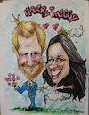 Cartoon: Harry and Maggy (small) by necmi oguzer tagged hochzeit