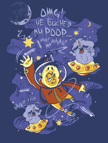 Cartoon: i can touch the stars (medium) by bkopf tagged can,touch,the,star,omg,he,touched,my,poop,meta,mephisto,bkopf