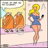 Cartoon: All is illusion? (small) by Piero Tonin tagged piero,tonin,buddhism,buddha,buddhist,monk,monks,hinduism,hindu,maya,illusion,reality,spirituality,philosophy,religion,religions,girl,girls,woman,women,sex,sexy,erotic,eros,voluptuous,busty,tits,boobs,miniskirt,miniskirts,curvy,sexuality,dalai,lama