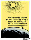 Cartoon: Calentamiento global (small) by jrmora tagged calemiento,global,clima,cumbre,copenhague,dinamarca
