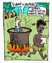 Cartoon: Dinner (small) by Christo Komarnitski tagged lawyer,dinner,cannibal
