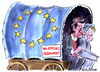 Cartoon: No Gypsies (small) by Christo Komarnitski tagged eu,gypsies,france,sarkozy