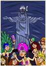 Cartoon: carneval (small) by bacsa tagged carneval