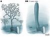 Cartoon: Enviroment (small) by bacsa tagged tree