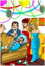 Cartoon: new life (small) by bacsa tagged new,life