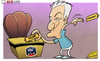 Cartoon: Deschamps escapes (small) by omomani tagged didier,deschamps,france
