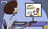Cartoon: Ekotto reads up on Paulinho (small) by omomani tagged benoit,assou,ekotto,paulinho,tottenham