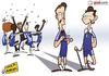 Cartoon: Lampard n Terry refuse to boogie (small) by omomani tagged ashley,cole,brazil,chelsea,david,luiz,england,lampard,meireles,portugal,premier,league,ramires,terry,villas,boas