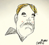 Cartoon: Philip Seymour Hoffman (small) by omomani tagged caricature,hollywood,philip,seymour,hoffman,usa