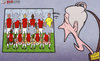 Cartoon: Wenger loses prize piece RVP (small) by omomani tagged arsenal,wenger