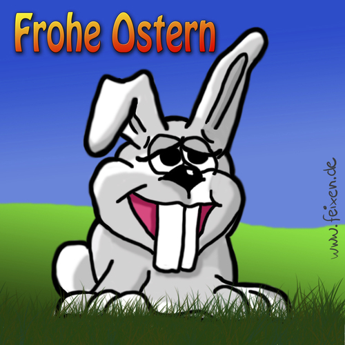 Cartoon: Ostern 2010 (medium) by feixen tagged ostern