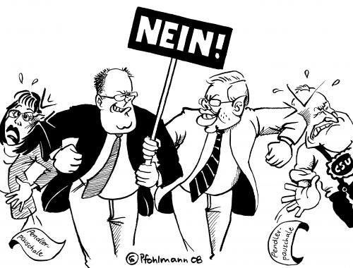 Ag koch steinbr ck von pfohlmann politik cartoon toonpool for Koch ypsilanti