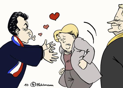 Küsschen Französisch
