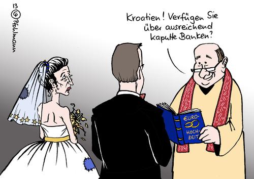 Toonpool Com Toon Agent Eu Hochzeit Kroatien Von Pfohlmann
