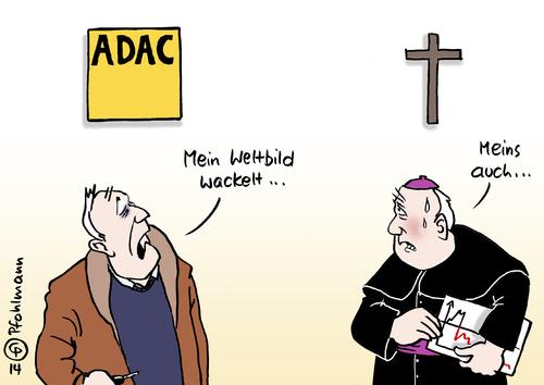 Wackel weltbild von pfohlmann politik cartoon toonpool for Verlag weltbild