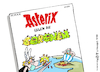 Cartoon: Asterix vs Coronen (small) by Pfohlmann tagged 2020,global,welt,corona,virus,coronavirus,covid19,coronakrise,asterix,uderzo,tod,comic,zeichner,comiczeichner