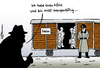 Cartoon: Transportunfähig (small) by Pfohlmann tagged demjanjuk,kz,konzentrationslager,sobibor,nazi,nationalsozialismus,ns,kriegsverbrecher,prozess,transportunfähig,anklage,mord