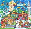 Cartoon: Weihnachten New York (small) by sabine voigt tagged new,york,christmas,weihnachten,weihnachtsmann,schlitten,winter,rentier,elch,geschenke,glauben