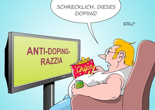 Anti-Doping-Razzia