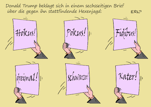 Brief von Trump