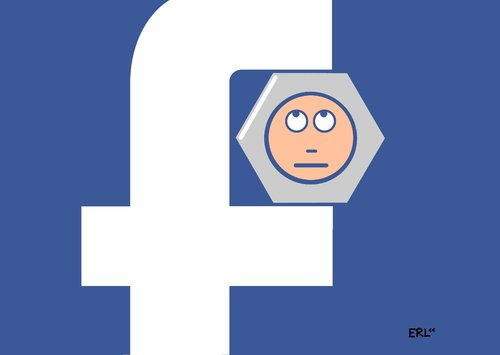 Cartoon: Facebook (medium) by Erl tagged zuckerbook,facebook,internet,kommunikation,social network,netzwerk,soziales netzwerk,freunde,gott,mark zuckerberg,freundschaft,social,network,soziales,mark,zuckerberg