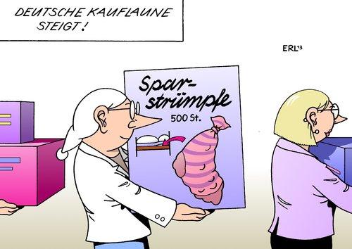 Matratzen comic  Kauflaune von Erl | Politik Cartoon | TOONPOOL