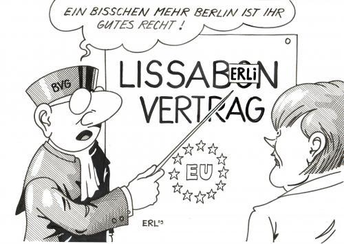 Lissabon Von Erl Politik Cartoon Toonpool
