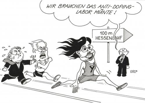M nte von erl politik cartoon toonpool for Koch ypsilanti