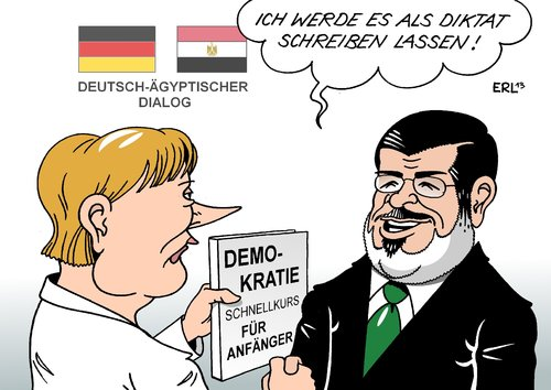 Mursi in Berlin