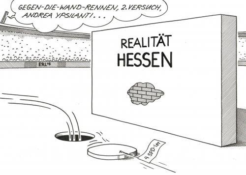 Realit t von erl politik cartoon toonpool for Koch ypsilanti