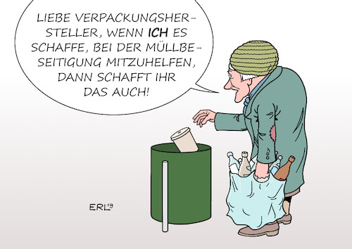 Verpackungsmüll