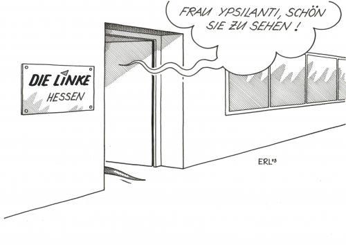 Ypsilanti von erl politik cartoon toonpool for Koch ypsilanti