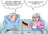 Cartoon: Deutsche Einheit (small) by Erl tagged deutschland,wiedervereinigung,1990,25,jahre,jubiläum,hochzeit,silberhochzeit,alltag,ehe,karikatur,erl