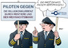 Cartoon: Pilotenstreik (small) by Erl tagged streik,pilot,piloten,lufthansa,altersversorgung,rente,konkurrenz,billig,billigkonkurrenz,gewerkschaft,cockpit,rentier,weihnachtsmann,karikatur,erl