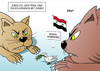Cartoon: Syrien-Konferenz (small) by Erl tagged syrien,bürgerkrieg,diktator,assad,konferenz,wien,iran,saudi,arabien,regionalmacht,usa,russland,eu,frieden,friedenstaube,katze,karikatur,erl