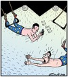 Cartoon: Dit Dot ARRRGGHHH! (small) by Tony Zuvela tagged trapeze,artist,circus,show,performers,swing,text,messaging,texting,message,falling,death,dies,killed,accident,fatal,mobile,phone,iphones,devices,technology