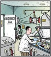 Cartoon: Mmmmm Dessert! (small) by Tony Zuvela tagged cryogenics,lab,workers,desserts,frozen,person,container,ice,creams,popsicles,lolly,dead,cure,reborn,treats