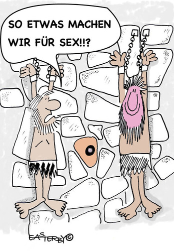 Cartoon: wall in the hole sex (medium) by EASTERBY tagged prison,torture