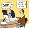 Cartoon: Fast food (small) by EASTERBY tagged fast food