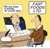 Cartoon: Fast food (small) by EASTERBY tagged fast,food